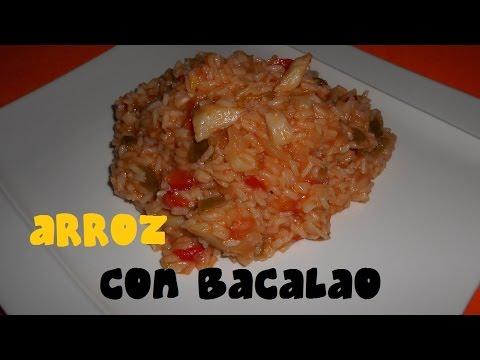 Receta 44 arroz con bacalao youtube - Arroz blanco con bacalao ...