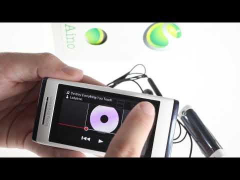 Sony Ericsson Aino UI