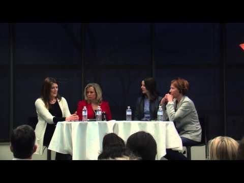 Women's sports journalism panel
