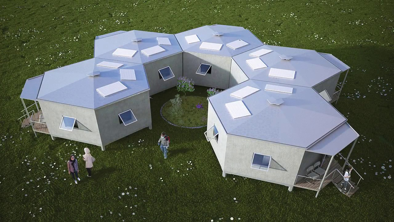Hex House – Hex House – Rapidly Deployable House