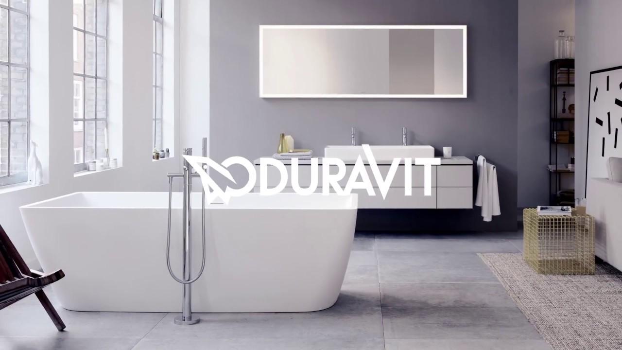 Edinburgh Bathroom Company - DuraSquare by Duravit - YouTube
