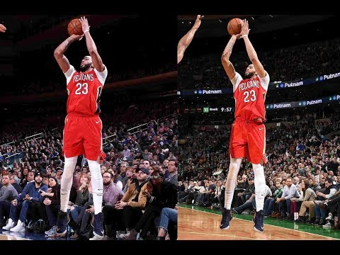Best Of Anthony Davis' BACK TO BACK 45+ point 15+ rebound Games