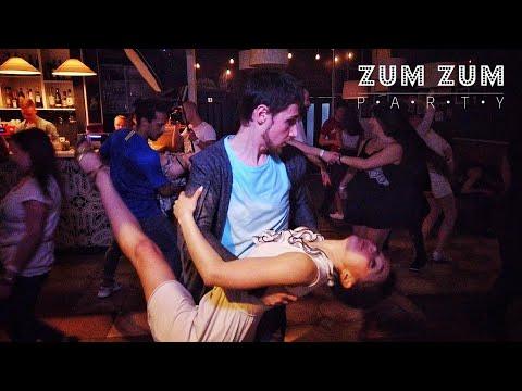 ZumZum Party. Dj Carioca And Julia Ivanova. Zouk Improvisation.