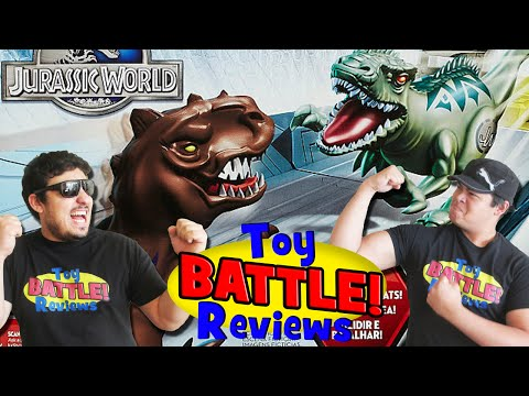 Jurassic World Brawlasaurs! ~ Toy Battle Reviews