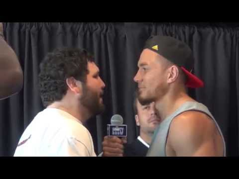 Sonny Bill Williams vs Chauncy Welliver weigh-in