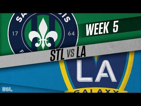 Saint Louis FC vs LA Galaxy II: April 14, 2018
