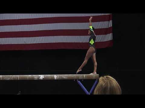 Shania Adams - Balance Beam – 2018 U.S. Gymnastics Championships – Senior Women Day 1