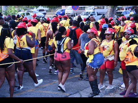 Antigua & Barbuda Carnival - J'Ouvert 2018