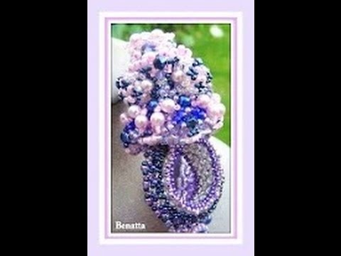 Creations Show - Lilac Trio Set  ( Colorworks 2012-Beading Contest )