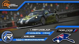 GT Pro Series | 1. Wertungslauf | Adelaide | Simracing United