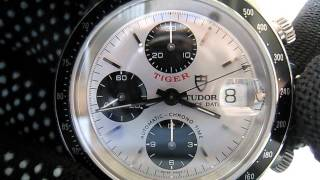 Tudor Prince Date Tiger Chronograph Automatic Ref. 79260 H serial  Function Testing