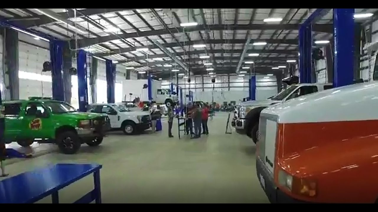 Auto Repair Garage Floor Plans: Tindol Truck Shop Grand Opening