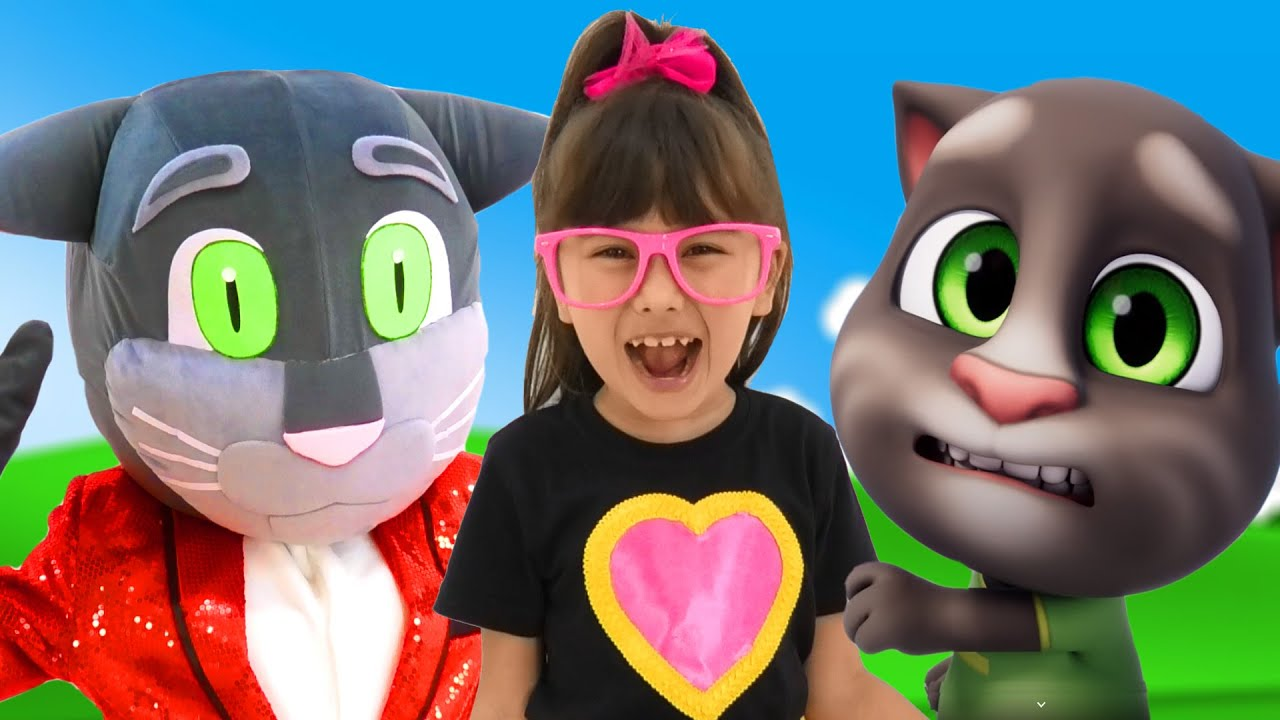 My Talking Tom and Friends Alone at Home! Talking Tom 2 and Abby Hatcher Episode! Gameplay