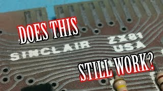 Video TWB #54 | Sinclair ZX81 Board, Unknown Condition - Will It Power Up? download MP3, 3GP, MP4, WEBM, AVI, FLV Oktober 2018