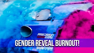 Gender Reveal Burnout at SpeedFactory Racing