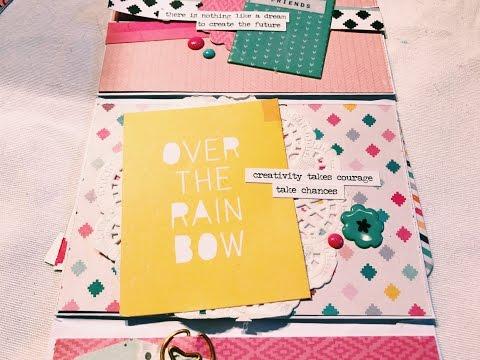 Envelope Flipbook Process Video + Tutorial #12 - CRATE PAPER CUTE GIRL