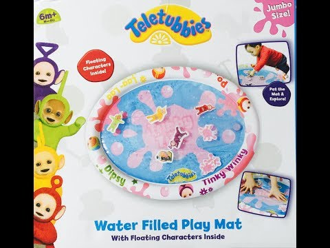 NEW TELETUBBIES Water Filled PLAY MAT TOY Opening!