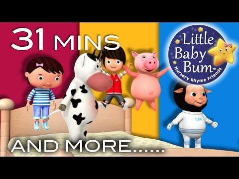 Thumbnail: Songs Featuring The Sky | Plus Lots More Nursery Rhymes | 31 Minutes Compilation from LittleBabyBum!