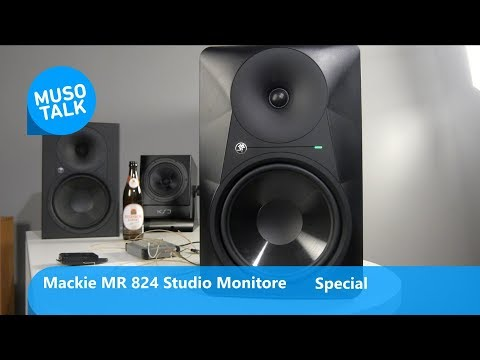 Mackie MR 824 günstige Nahfeld Studio Monitore