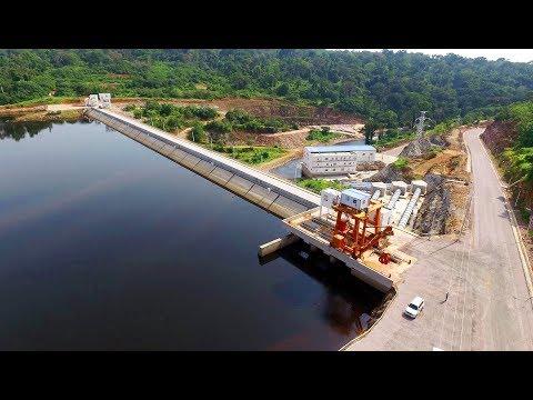 Historique du Barrage hydroélectrique de Liouesso dans le Département de la Sangha(MATDGT)