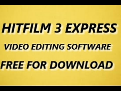 Free download video cutting editing software