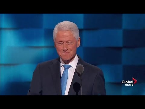 Full speech: Bill Clinton discusses meeting Hillary, her accomplishments, right choice for president