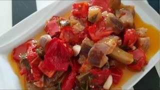 Tadına Doyamayacağınız Bir Turşu: Biberli Yağlı Patlıcan