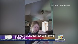 Eight-year-old Bakersfield girl protects family from earthquake