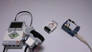 Transmit LEGO EV3 IR Beacon Signal using Arduino