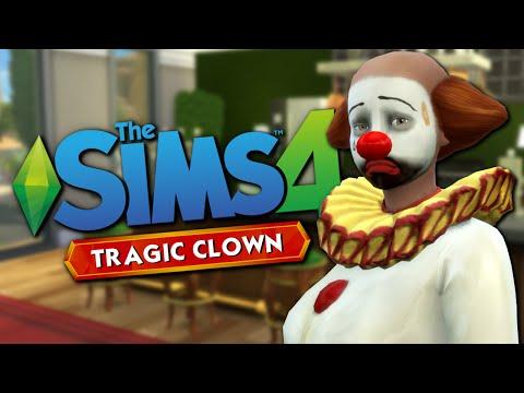 TRAGIC CLOWN - The Sims 4 Funny Highlights #62