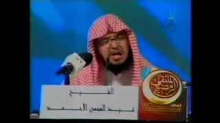 قصة تجعل شعر جسمك يقف للشيخ عبد المحسن الاحمد مؤثر جداً !