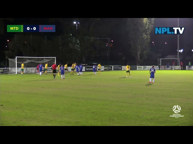 NPL NSW Men's Round 12 – Mt Druitt Town Rangers v Manly United