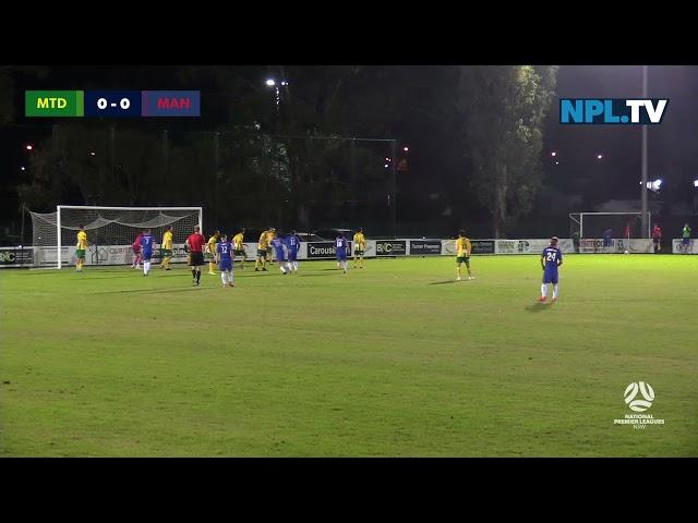 NPL NSW Men's Round 12 – Mt Druitt Town Rangers v Manly United