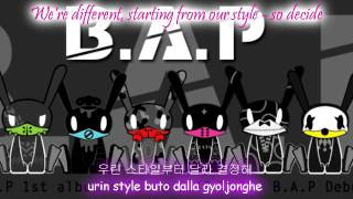 B.A.P Burn It Up [Eng Sub + Romanization + Hangul] HD MP3