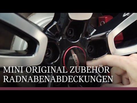 MINI Originalzubehör   Die neuen Radnabenabdeckungen.