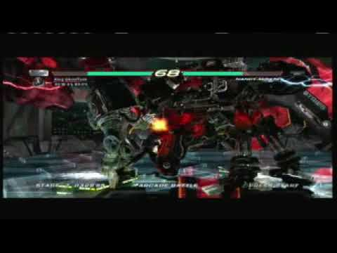 Tekken 6-Machine Crusher- How to Beat Nancy-MI847J.