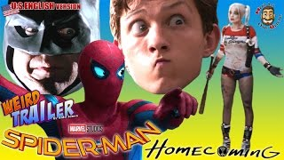 SPIDER-MAN HOMECOMING Weird Trailer ( U.S. Version ) by Aldo Jones