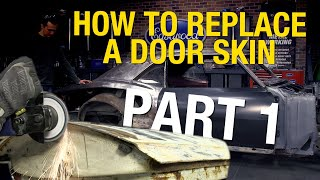 How to Replace a Door Skin on a 1967 Chevrolet Camaro - Part 1 - Eastwood