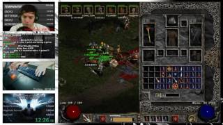 Diablo 2 - Hell 8 Man Ladder Speedrun! - Fastest time yet!