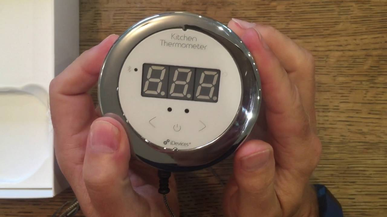Idevices Kitchen Thermometer Review