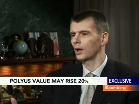 Prokhorov Aims to Create `Top 3_ Gold Producer in Merger