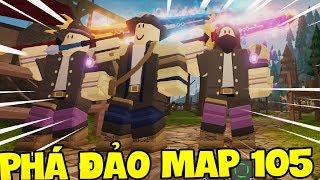 CÁCH SĂN BOSS VÀ PHÁ ĐẢO MAP 105 DUNGEON QUEST