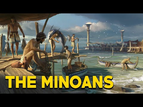 The Minoans: The First Great European Civilization (The legend of Atlantis) - See U in History