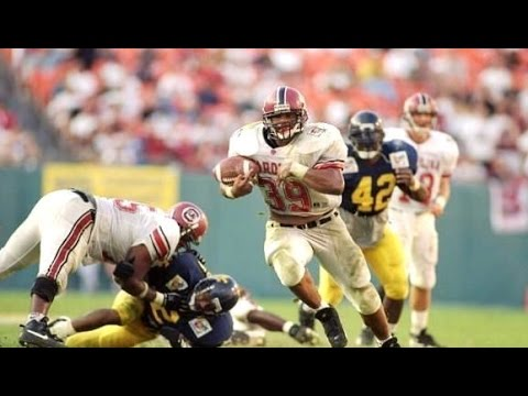 1995 Carquest Bowl (South Carolina vs. West Virginia) HD [1080]