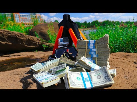 River Treasure: $1000 Dollar Challenge!!! (High Stakes)