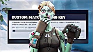 🔴 (EU) CUSTOM MATCHMAKING GAMES | SEASON 9 | ALL PLATFORMS | use code: chez | Fortnite Live!
