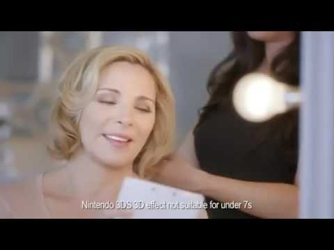 Kim Cattrall Stars in Nintendo's TV Commercial for Super Mario 3D