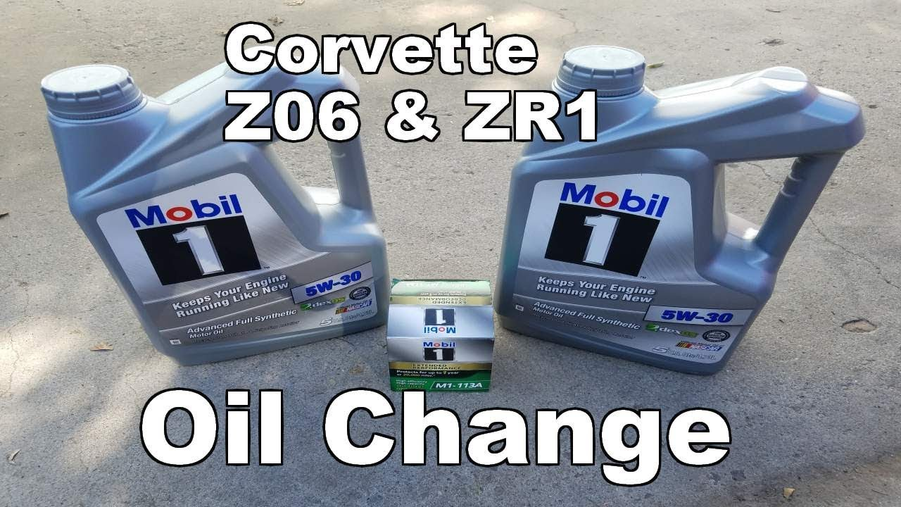 How To Change Oil On A C6 Corvette Zr1 Z06 Youtube