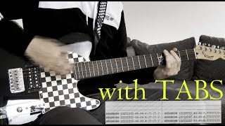 Hollywood Undead - Sell Your Soul Guitar Cover w/Tabs on screen