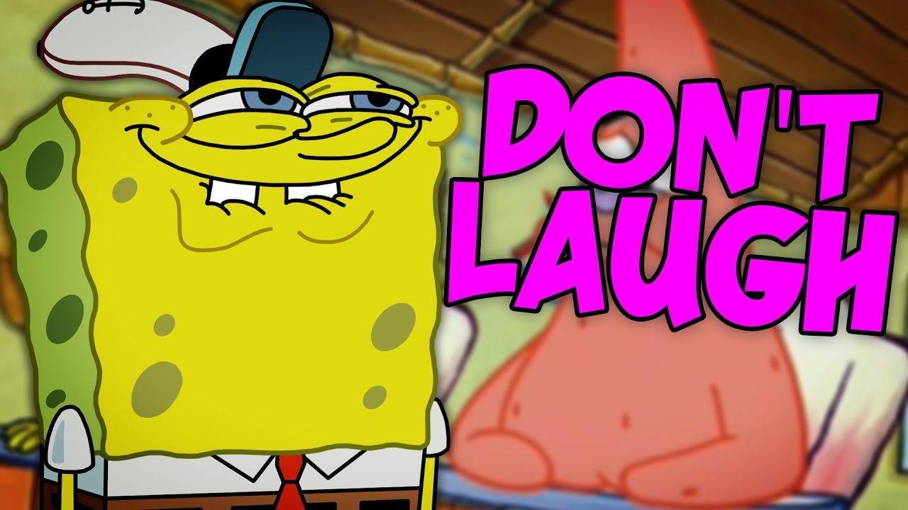 Try not to laugh challenge spongebob squarepants edition
